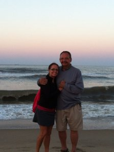 Gary and me at Virginia Beach