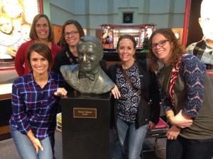 Touring St. Jude Jennifer, Mary Jane, Kelly, Me, and Katie